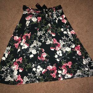 Banana Republic Floral Midi-Skirt